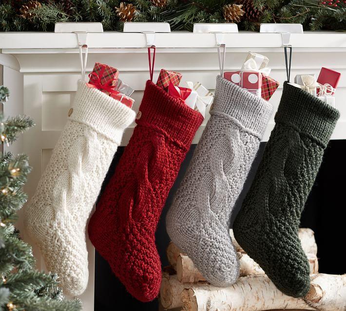 Christmas Stockings Pottery Barn.Tis The Season Holiday Decor Mama Bird And Tribe